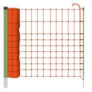 Filet pour petits animaux / animaux sauvages 50 m, 65 cm, avec 1 pointe