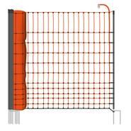 Clôture pour les poules, clôture pour les volailles, filet pour les volailles classic  de VOSS.farming 25 m, 112 cm, 9 piquets, 2 pointes