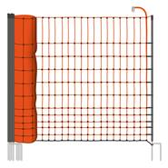 Clôture pour les poules, clôture pour les volailles, filet pour les volailles classic de VOSS.farming 50 m, 112 cm, 16 piquets, 2 pointes