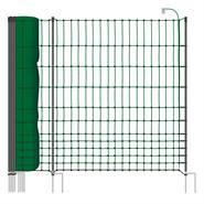 Clôture pour les poules premium, clôture/filet pour les volailles classic+ de VOSS.farming 50 m, 112 cm, 20 piquets, 2 pointes