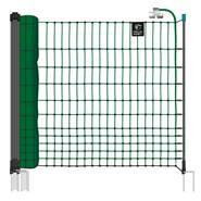 Filet électrifiable farmNET pour les volailles, 25 m, de VOSS.farming, 112 cm, 9 piquets, 2 pointes, vert