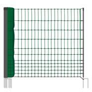 Clôture pour les poules, clôture/filet pour les volailles classic  de VOSS.farming 25 m, 112 cm, 9 piquets, 2 pointes, non électrifiable