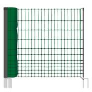 Clôture pour les poules, clôture/filet pour les volailles classic  de VOSS.farming 50 m, 112 cm, 16 piquets, 2 pointes, non électrifiable