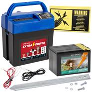 """Électrificateur 9 V """"Extra Power 9V"""" de VOSS.farming, pile 9 V  fournie"""