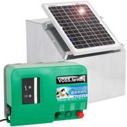 Kit VOSS.farming: Panneau solaire de 12W +  Électrificateur 12V Green Energy + Boîtier