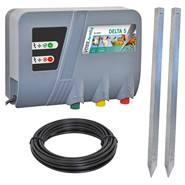 """Électrificateur de 230 V """"DELTA 5"""" de VOSS.farming + kit de mise à la terre"""