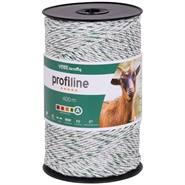 Fil de clôture électrique VOSS.farming de 400 m, 3 x 0,25 cuivre + 3 x 0,20 acier inoxydable, blanc-vert 4****