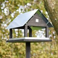 Paris - maison pour oiseaux, design danois, hauteur totale env. 116cm, longueur 36cm, largeur 26,5 cm