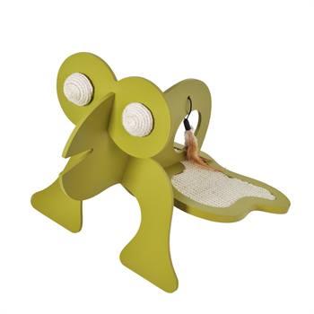 """Jouet griffoir """"Fred la grenouille"""" de VOSS.PET"""
