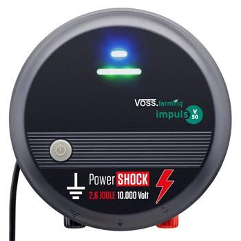 "VOSS.farming ""impuls V50"" - Electrificateur de clôture 230 V, usage multiple"