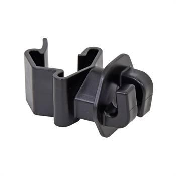 25 x  isolateurs pour cordelette de VOSS.farming pour piquets en T, noir