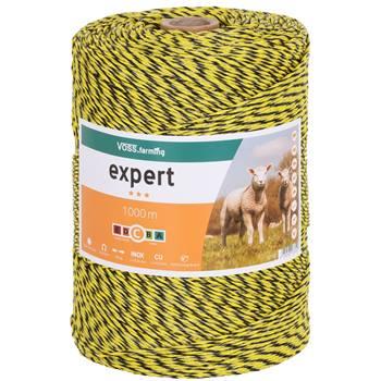 42705-1-fil-de-cloture-electrique-de-voss-farming-de-1-000-m-1-x-0-25-cuivre-2-x-0-25-acier-inoxydab