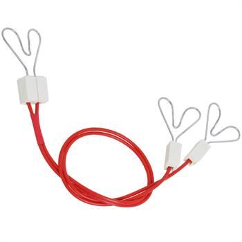 Câble de raccordement VOSS.farming avec 3 x pinces en coeur 40 cm