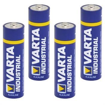"""4x piles de 1,5 V, type AA, """"Varta Industrial"""""""