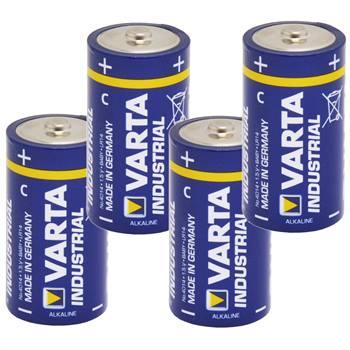 """4 x piles de 1,5 V, pack C, """"Varta Industrial"""""""