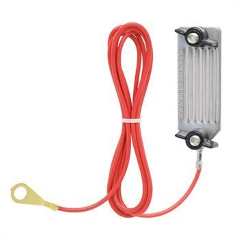 Câble de raccordement pour ruban VOSS.farming, à visser, 130 cm, ACIER INOXYDABLE