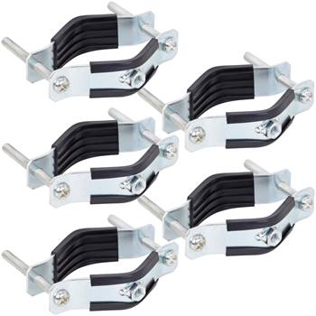 5x colliers de fixation pour isolateurs sur tube ou piquet VOSS.farming