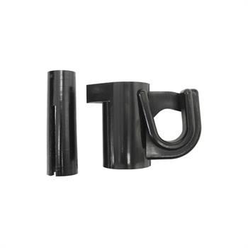 25 x isolateurs complémentaires de VOSS.farming pour fil, fil acier, cordelette, ruban (pour piquet en fibre de verre 44474)