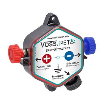 Protection parafoudre Duo de VOSS.PET