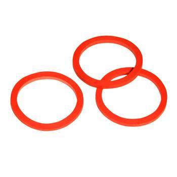 Bague d'étanchéité KERBL pour valve vissée, rouge, 3 mm
