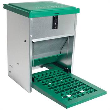 Distributeur de nourriture automatique Feedomatic, avec pédale (5kg)