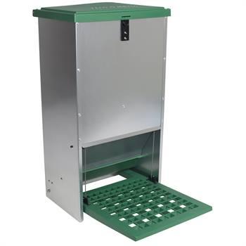 Feedomatic - mangeoire automatique avec alimentation par pédale pour 20 kg de nourriture au maximum