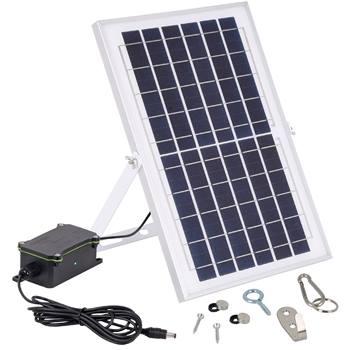 Kit solaire pour porte de poulailler automatique