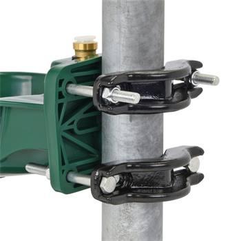 Fixation de tuyau pour abreuvoir, étrier de fixation, 120 mm