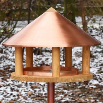 930126-1-kopenhagen-maison-pour-oiseaux-avec-toit-en-cuivre-design-danois-hauteur-155-cm-avec-suppor