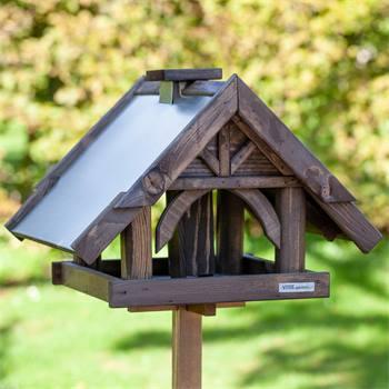 «Sibo» de VOSS.garden - maison pour oiseaux de qualité supérieure, avec support