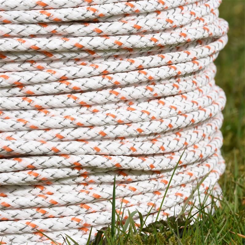 42485-4-corde-pour-cloture-electrique-braid-x-de-voss-farming-400-m-6-isolateurs-en-acier-inoxydable