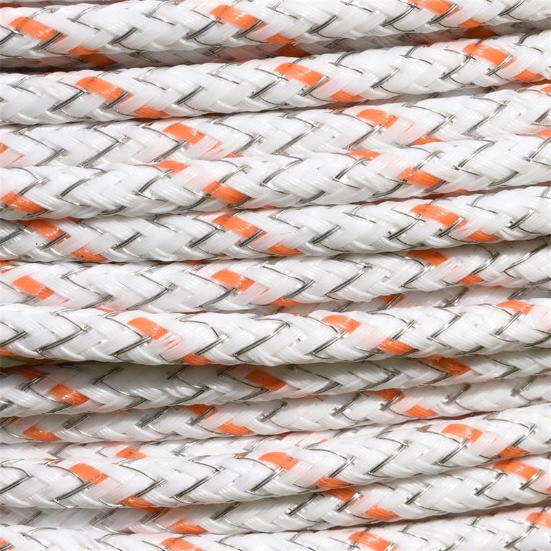42485-5-corde-pour-cloture-electrique-braid-x-de-voss-farming-400-m-6-isolateurs-en-acier-inoxydable
