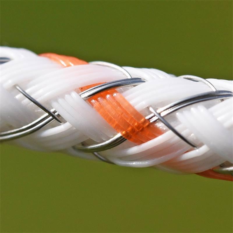 42485-8-corde-pour-cloture-electrique-braid-x-de-voss-farming-400-m-6-isolateurs-en-acier-inoxydable