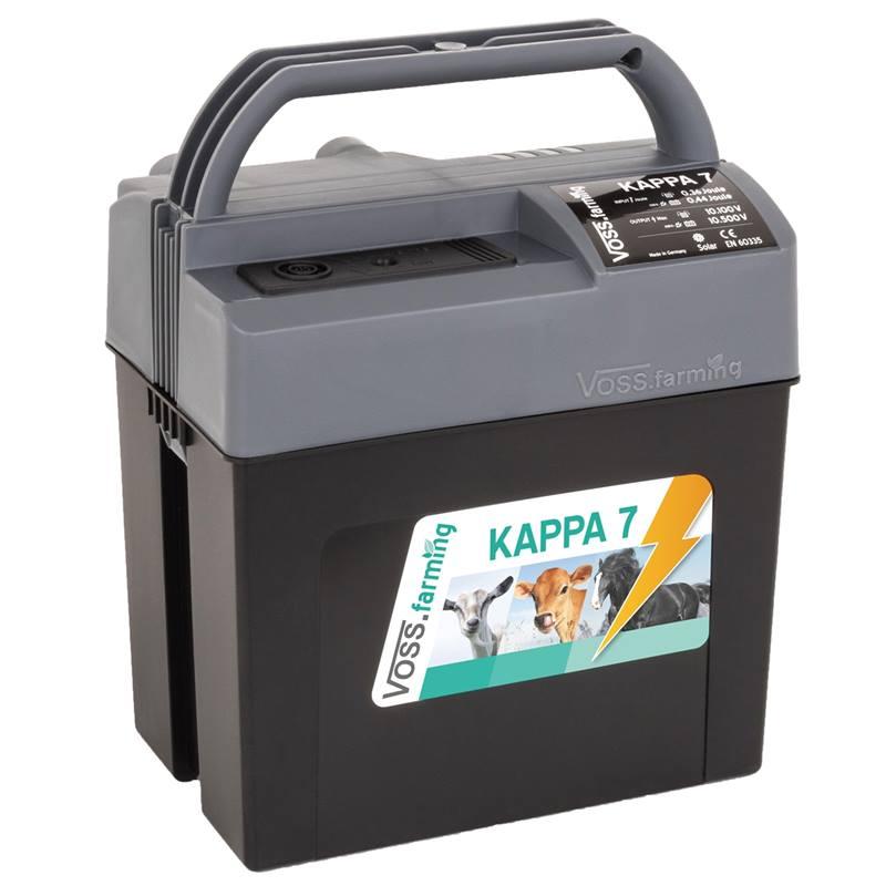 Electrificateur Multifonctions De Cloture Electrique Kappa 7 De Voss Farming Pour 9 V 12 V Et 230 V
