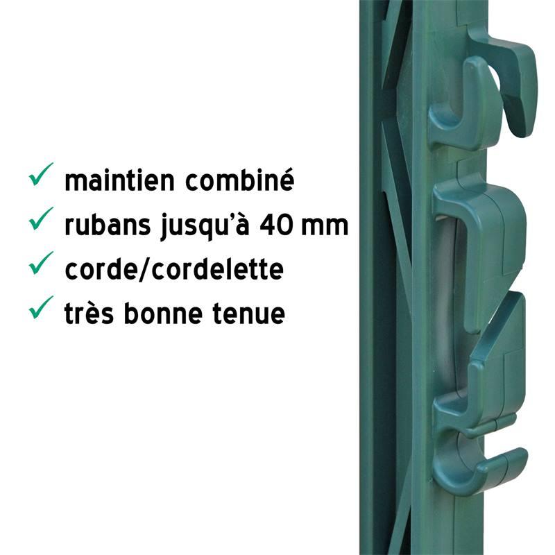 44473.40-4-40-x-piquets-de-cloture-electrique-de-voss-farming-157-cm-etrier-renforces-en-fibre-de-ve