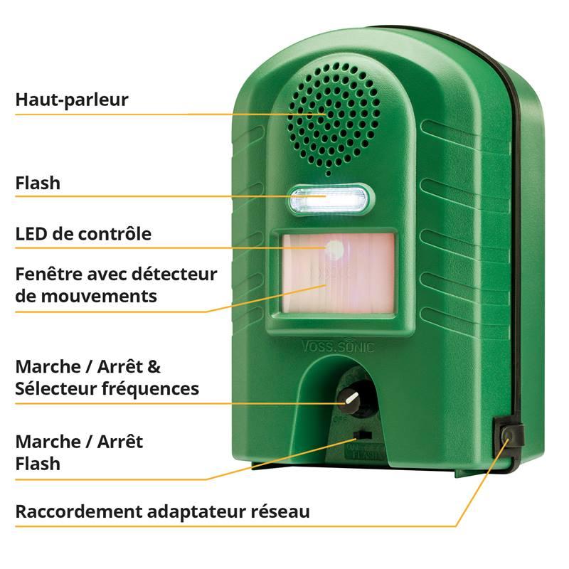 45343-8-appareil-repulsif-a-ultrasons-voss-sonic-2800-avec-flash-et-adaptateur-secteur-repulsif-cont