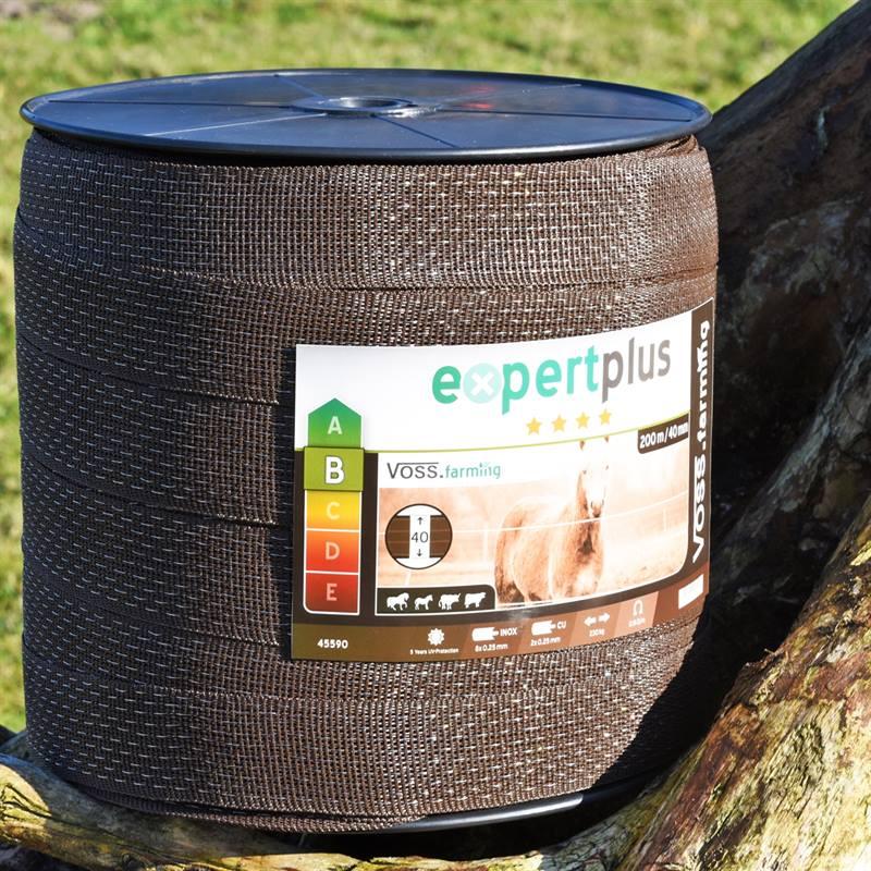 45590-3-ruban-de-cloture-electrique-de-voss-farming-200-m-40-mm-2-x-0-25-cuivre-8-x-0-25-acier-inoxy