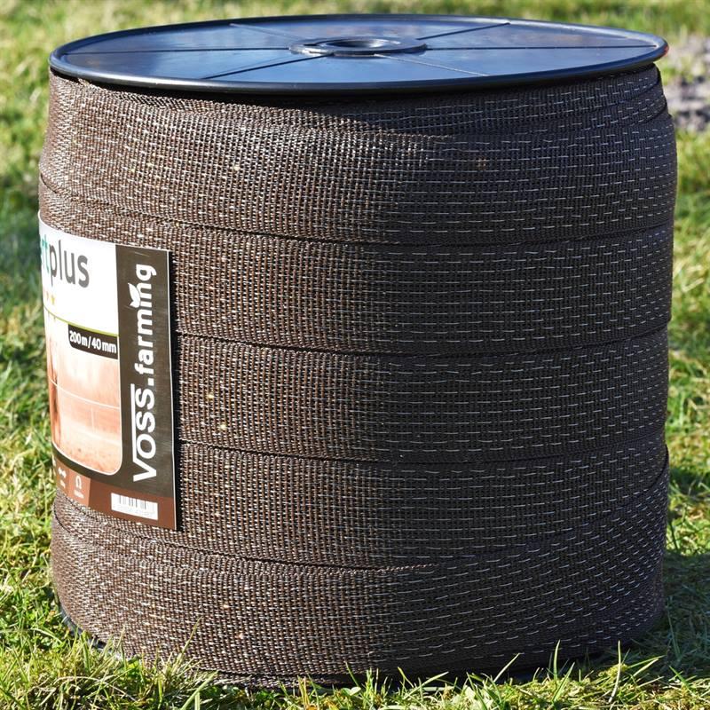 45590-7-ruban-de-cloture-electrique-de-voss-farming-200-m-40-mm-2-x-0-25-cuivre-8-x-0-25-acier-inoxy