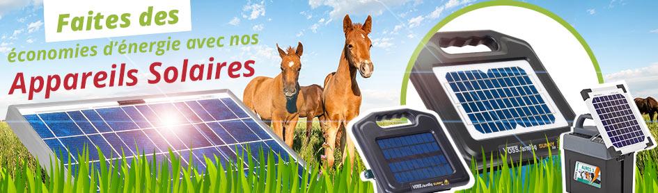 debutez saison avec appareils solaires