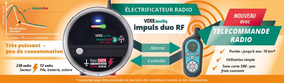 Électrificateur radio