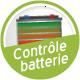 Contrôle de la batterie et de l'appareil