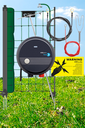 Kits de clôtures électriques pour chiens