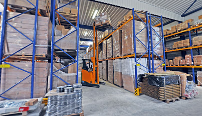 Logistics center - Inside