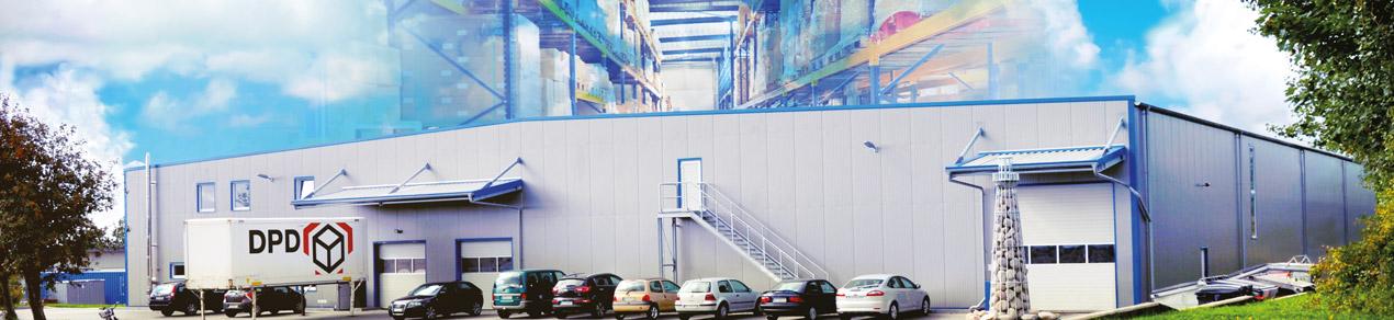 Weidezaun-Logistikzentrum in Viöl